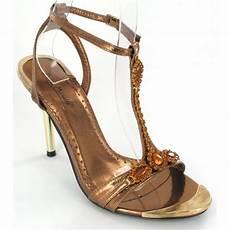 Bronze Wedding Shoes Heels