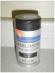 testors master spray paint 2902 arctic blue 3 oz