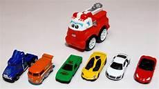 voitures jouets apprendre 224 compter avec le camion de