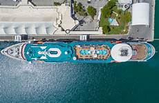 Skyview Cruise In by Photographing Cruise Ships From Above With A Drone