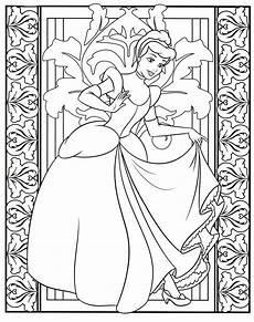 Malvorlagen Princess Malvorlagen Disney Princess Cinderella