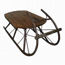 Antique Sleigh Coffee Table sleigh coffee table ski country antiques home
