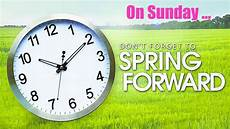 spring forward time change first parish in lexington