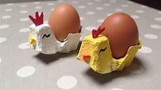 lavoretti da casa come creare portauova a forma di pulcino gallina tutorial