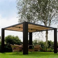 Pavillon Markise Rattan Sonnenschutz 3 5x3 5m Braun Oder