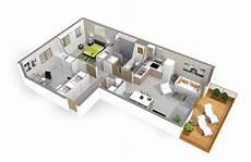 plan maison moderne 3d plan de maison moderne 4 chambres 3d