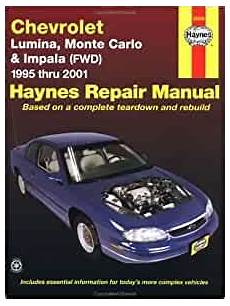 online car repair manuals free 1995 chevrolet impala user handbook chevrolet lumina monte carlo and front wheel drive impala automotive repair manual 1995