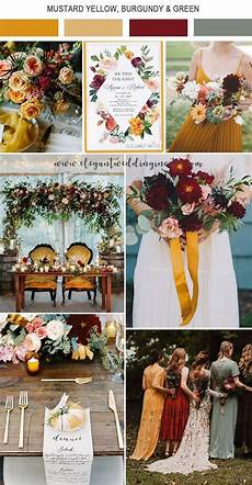 5 Amazing Wedding Color Palettes Inspired By Ewi Floral Invitations