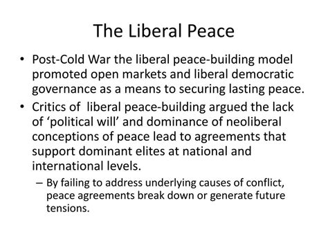 Contemporary Peacemaking Conflict Peace Processes And Post War Reconstruction
