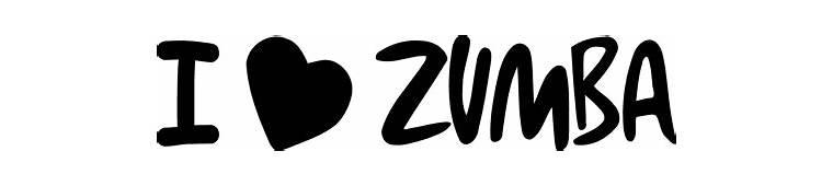 Zumba Logo Stickers