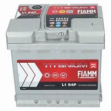 autobatterie 12v 54ah 520a en fiamm pro premium batterie