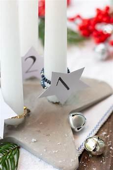 betonstern adventskranz trytrytry