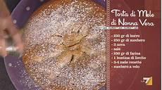 torta della nonna di benedetta i menu di benedetta la ricetta della torta di mele di nonna vera ricette in tv
