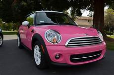Dave Car Pink Mini Cooper Joins The Garage