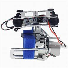 Axis Aluminum Brushless Mount Gimbal by Aluminum 2 Axis Gimbal Mount W Brushless Motor