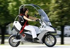 Bmw C1 E Enclosed Scooter Concept