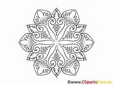 Ausmalbild Schneeflocken Mandala Skizze Schneeflocke Mandala Malvorlage Zum Ausmalen