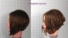 coupe de cheveux ondulés coupe de cheveux carr 233 plongeant d 233 grad 233 layered bob