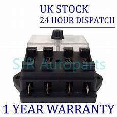 12 volt fuse box and cover new 4 way universal standard 12v 12 volt atc blade fuse box cover kit car ebay