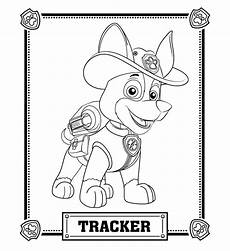 paw patrol tracker coloring pages paw patrol coloring