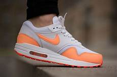 nike wmns air max 1 essential sunset glow sneaker bar