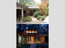 Midcentury Modern remodel   Before & After   Ranch house