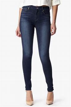 7 for all mankind the high waist in blue lyst