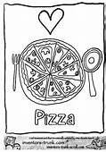 Pizza Coloring Pages  Kids Printable 24