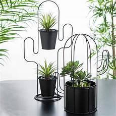 vasi per cactus cactus supporto per vaso per piante nero h 26 5 x w 15 x d