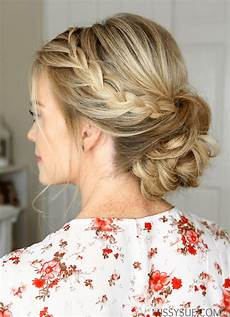 prom hair buns lace braids updo sue