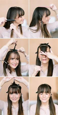 How To Style Your Hair With Bangs