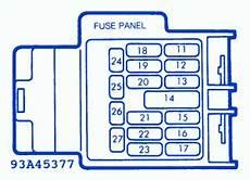 Mazda Mx 5 Miata 2000 Cruise Fuse Box Block