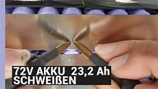 akku selber bauen 72v e bike akku schwei 223 en 23 2 ah