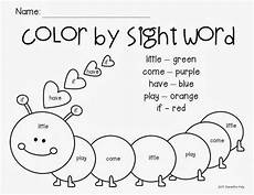 colors printable word 12830 color by sight word freebie kinderland collaborative caterpillar words and