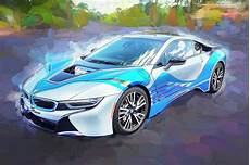 2015 bmw i8 hybrid sports car photograph by rich franco