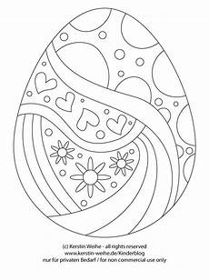 osterei malvorlage kinder easter coloring pages