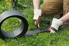 bordure de jardin en polyur 233 thane 1500 x 0 45 x 12 cm
