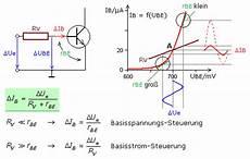 transistorverst 228 rker mit vierquadranten kennlinienfeld