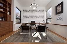 Modern Home Office - chicago illinois interior photographers custom luxury home