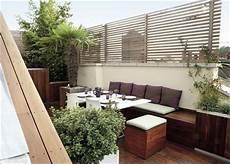 Stadtbalkon Dachterrasse Sichtschutz Garten Und
