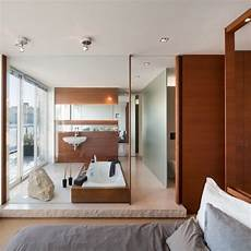 bad im schlafzimmer die besten 25 badezimmer beispiele ideen auf