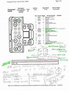2010 ford f 150 mirror wiring diagram f150 16 pin mirror question on input ford truck enthusiasts forums
