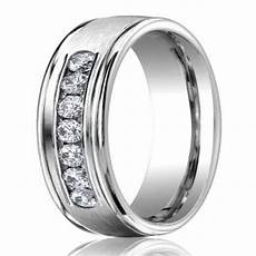 6mm men s 950 platinum diamond wedding ring justmensrings com