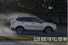 2019 subaru forester specifications and changes 2019