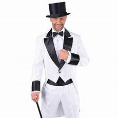 D 233 Guisement Costume Cabaret Homme Blanc Noir