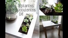 diy table 224 plantes ikea nid 224 succulentes