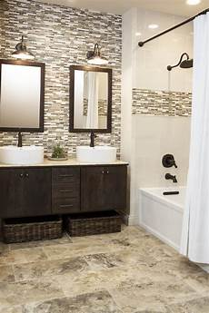 Best Bathroom Wall Tile by Continue Accent Tile In Shower To Backsplash For Vanity