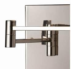 elk lighting 10108 1 polished chrome single light swing arm wall sconce from the swingarm