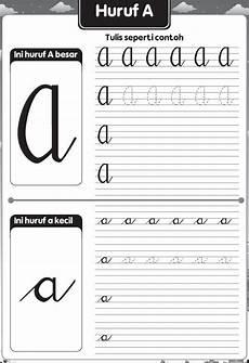 Hasil Gambar Untuk Latihan Menulis Huruf Sambung Huruf