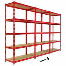 scaffali economici 3 garage shelving racking 90cm storage units heavy duty